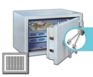 Rottner armoires ignifuge papier SuperPaper 50 Premium
