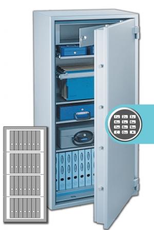 Rottner Papiersicherungsschrank SuperPaper 160 Premium EL
