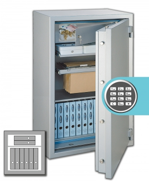 Rottner Papiersicherungsschrank GigaPaper 65 Premium EL