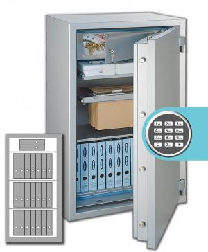 Rottner Papiersicherungsschrank GigaPaper 140 Premium EL