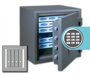 Rottner Papiersicherungsschrank FireProfi 50 EL Premium