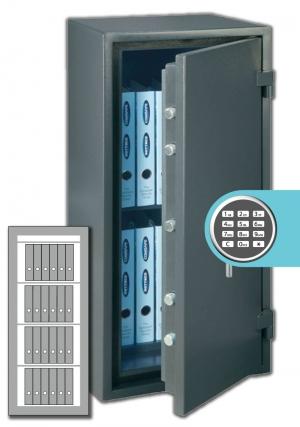 Rottner Papiersicherungsschrank FireProfi 165 EL Premium