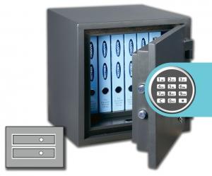 Rottner feuersicherer Dokumententresor FireChamp 32 EL Premium