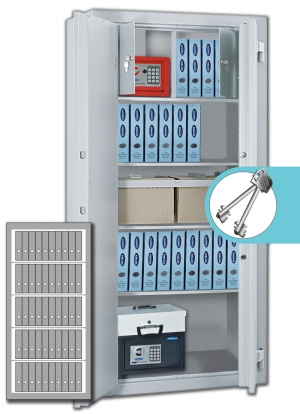 Rottner Stahlbüroschrank OFFICE 3 Premium