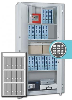 Rottner Stahlbüroschrank Kanzlei SB 125 EL Premium