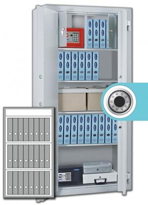 Rottner Stahlbüroschrank Kanzlei SB 125 Z Premium