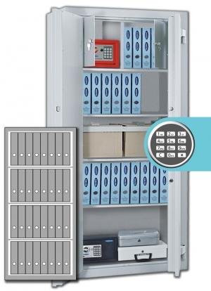 Rottner Stahlbüroschrank Kanzlei SB 150 EL Premium