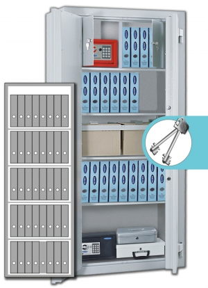 Rottner Stahlbüroschrank Kanzlei SB 195 Premium