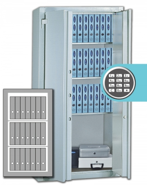 Stahlbüroschrank  Residenz DS 125 ELO Premium