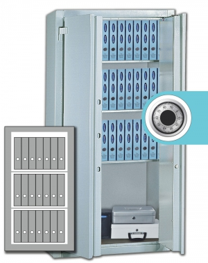 Stahlbüroschrank Residenz  DS 125 ZKS Premium