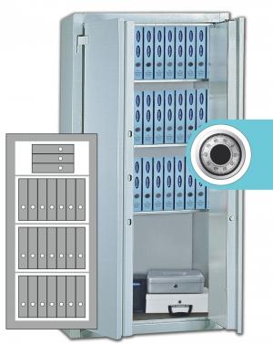 Stahlbüroschrank Residenz DS 150 ZKS Premium