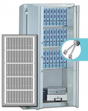 Stahlbüroschrank Residenz DS 195 L Premium (2flg.)