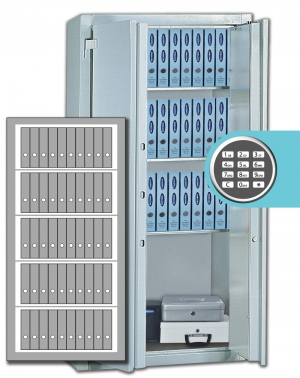 Stahlbüroschrank Residenz DS 195 L ELO Premium (2flg.)