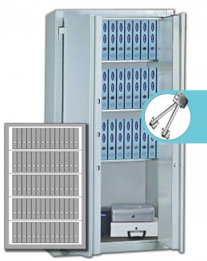 Stahlbüroschrank Residenz DS 195 XL Premium (2flg.)