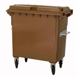 Kunststoffcontainer 770 Liter mit 4 Lenkrollen