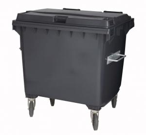 Kunststoffcontainer 1100 Liter mit 4 Lenkrollen