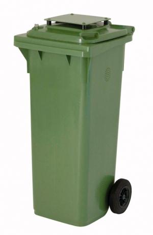 Kunststoffbehälter 140 Liter mit Deckel