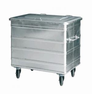 Container 800 Liter mit 2 Richtungsfeststellern
