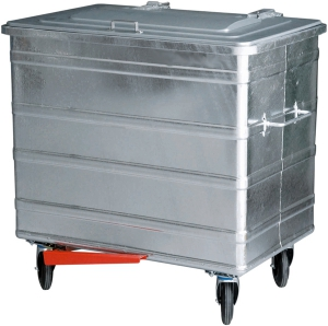 Container 800 Liter mit Fusspedal
