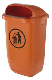 Kunststoffabfallbehälter Holland