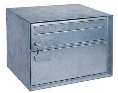 Swiss Mailbox Distel, verzinkt-natur