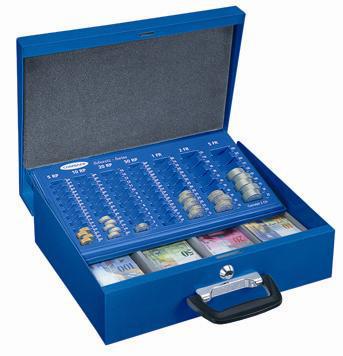 Geldzählkassette Bern blau