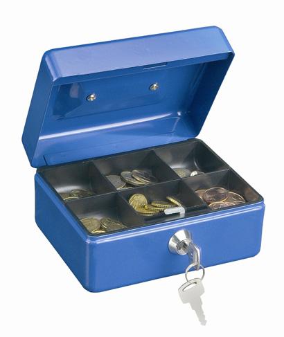 Geldkassette Traun 4 blau
