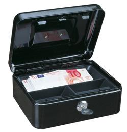 Geldkassette Traun 2 schwarz