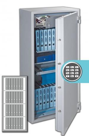 Rottner Papiersicherungsschrank PaperNorm Premium 150 EL