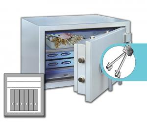 Rottner armoires ignifuge papier SuperPaper 65 Premium