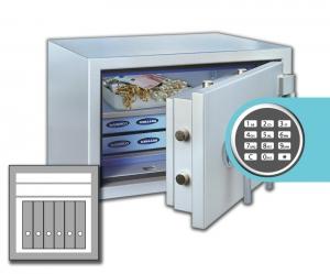 Rottner armoires ignifuge papier SuperPaper 65 EL Premium