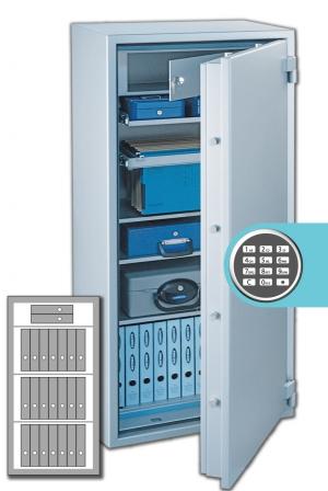 Rottner Papiersicherungsschrank SuperPaper 140 Premium EL