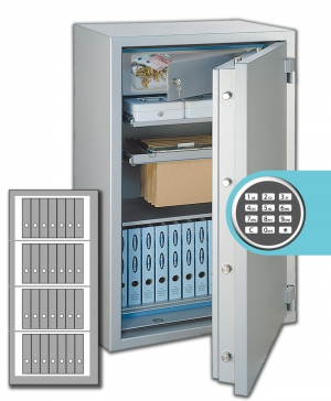 Rottner Papiersicherungsschrank GigaPaper 160 Premium EL