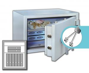 Rottner armoires ignifuge papier SuperPaper 70 Premium