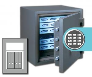 Rottner Papiersicherungsschrank FireProfi 65 EL Premium