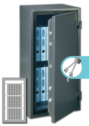 Rottner Papiersicherungsschrank FireProfi 140 Premium