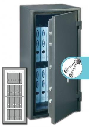 Rottner Papiersicherungsschrank FireProfi 165 Premium
