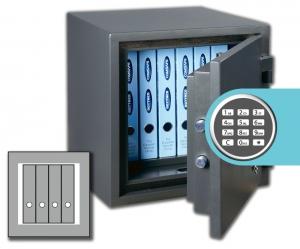 Rottner feuersicherer Dokumententresor FireChamp 45 EL Premium