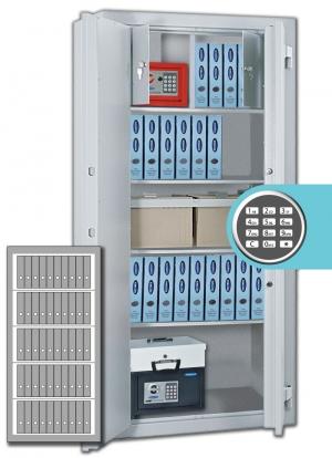 Rottner Stahlbüroschrank OFFICE 3 Premium EL