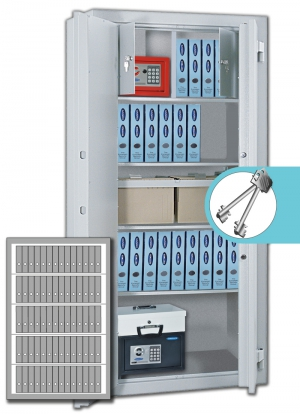 Rottner Stahlbüroschrank OFFICE 4 Premium
