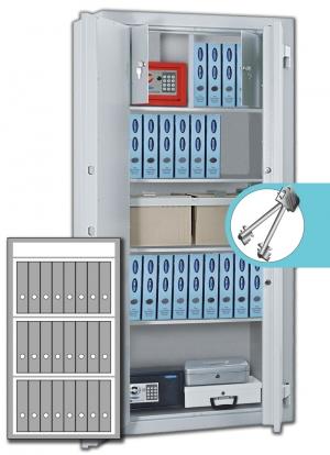 Rottner Stahlbüroschrank Kanzlei SB 125 Premium