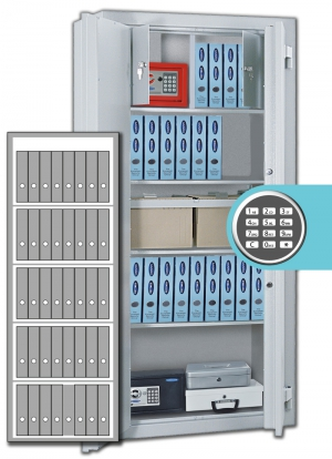 Rottner Stahlbüroschrank Kanzlei SB 195 EL Premium