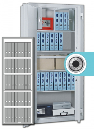 Rottner Stahlbüroschrank Kanzlei SB 195 Z Premium