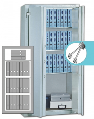 Stahlbüroschrank Residenz DS 150 Premium