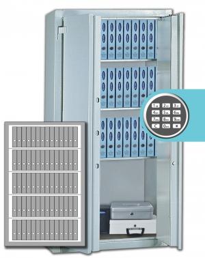 Stahlbüroschrank Residenz DS 195 XL ELO Premium (2flg.)