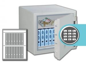 Rottner feuersicherer Wertschutzschrank Opal-Fire OPD 85 IT EL