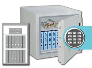 Rottner feuersicherer Wertschutzschrank Opal-Fire OPD 100 IT EL