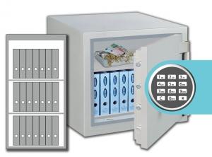Rottner feuersicherer Wertschutzschrank Opal-Fire OPD 120 IT EL