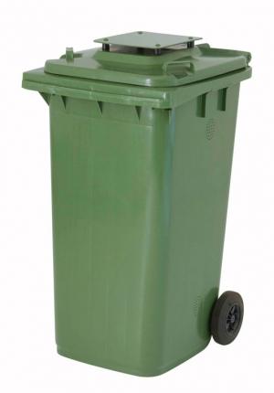 Kunststoffbehälter 240 Liter mit Deckel