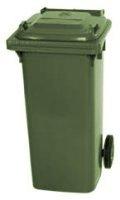 Kunststoffbehälter 360 Liter mit Deckel